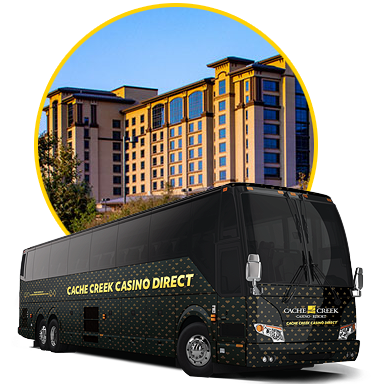 Cache Creek Casino Direct Bus